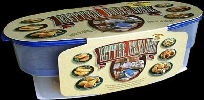 Batter bowl better breader flip n fry for Fish batter bowl